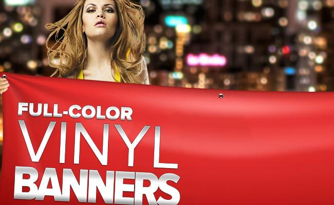 Full-Color Vinyl Banners